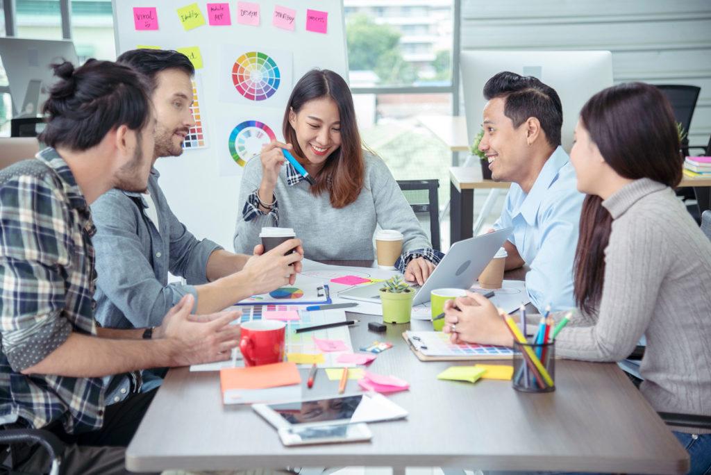 branding team meeting